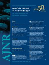 American Journal of Neuroradiology: 33 (2)