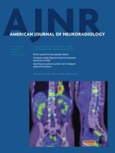 American Journal of Neuroradiology: 35 (10)