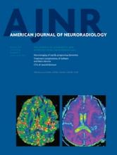 American Journal of Neuroradiology: 35 (3)