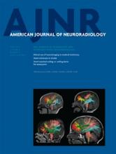 American Journal of Neuroradiology: 35 (4)