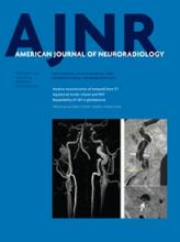 American Journal of Neuroradiology: 36 (9)
