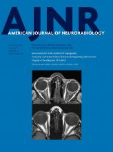 American Journal of Neuroradiology: 37 (12)
