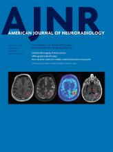 American Journal of Neuroradiology: 37 (2)