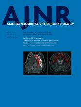 American Journal of Neuroradiology: 37 (8)