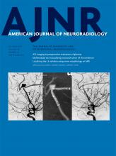 American Journal of Neuroradiology: 38 (10)