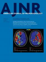 American Journal of Neuroradiology: 38 (3)