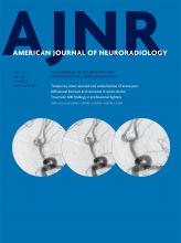 American Journal of Neuroradiology: 38 (7)