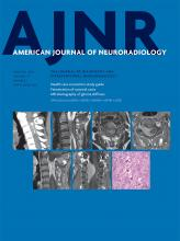 American Journal of Neuroradiology: 39 (1)