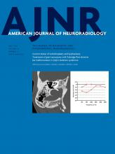 American Journal of Neuroradiology: 39 (5)