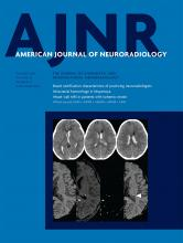 American Journal of Neuroradiology: 40 (10)