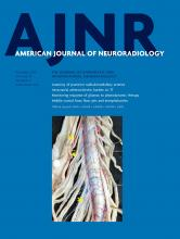 American Journal of Neuroradiology: 40 (12)
