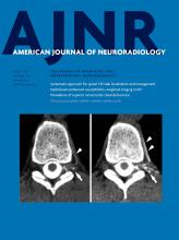 American Journal of Neuroradiology: 40 (4)