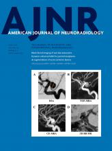 American Journal of Neuroradiology: 40 (6)
