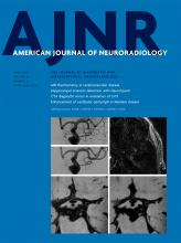 American Journal of Neuroradiology: 41 (4)