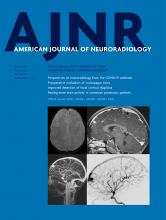 American Journal of Neuroradiology: 41 (6)