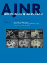 American Journal of Neuroradiology: 42 (2)